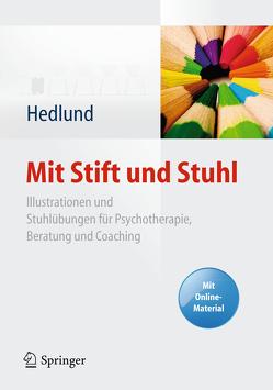 Mit Stift und Stuhl von Hedlund,  Susanne