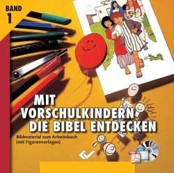 Mit Vorschulkindern die Bibel entdecken CD-ROM1 von Volkmann,  Christiane