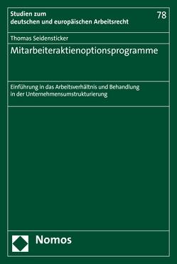Mitarbeiteraktienoptionsprogramme von Seidensticker,  Thomas