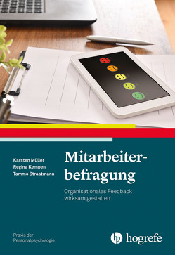 Mitarbeiterbefragung von Kempen,  Regina, Müller,  Karsten, Straatmann,  Tammo