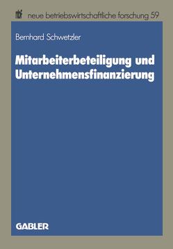 Mitarbeiterbeteiligung und Unternehmensfinanzierung von Schwetzler,  Bernhard