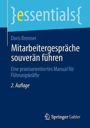 Mitarbeitergespräche souverän führen von Brenner,  Doris