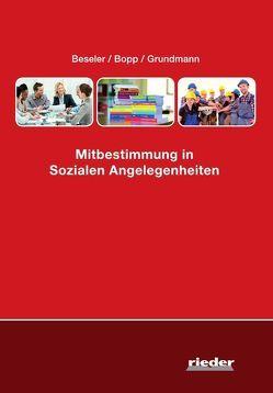 Mitbestimmung in Sozialen Angelegenheiten von Beseler,  Lothar, Bopp,  Peter, Grundmann,  Cornelia