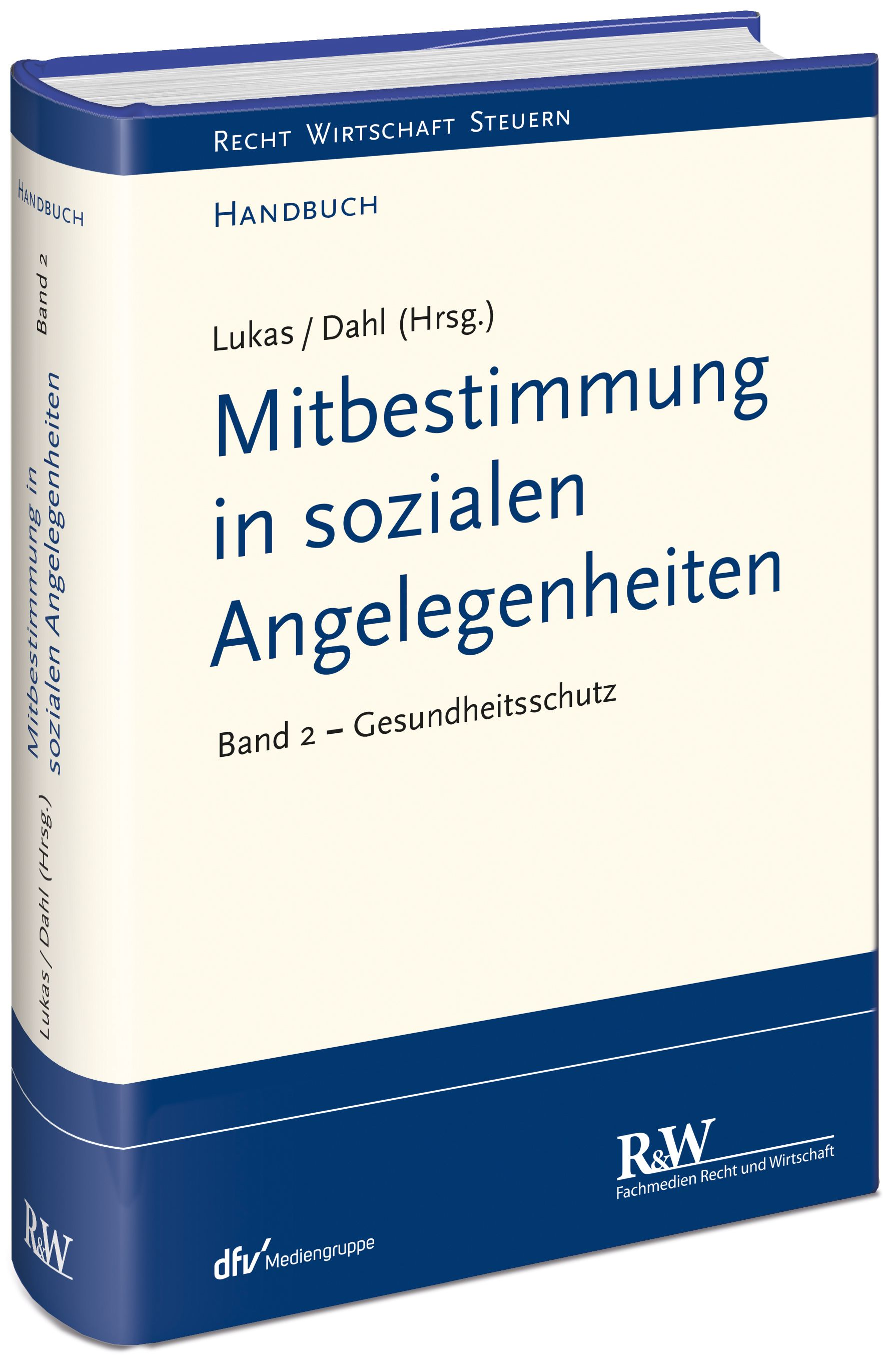 Mitbestimmung In Sozialen Angelegenheiten Band 2 Von Dahl Holger Lu