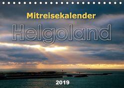 Mitreisekalender 2019 Helgoland (Tischkalender 2019 DIN A5 quer) von Krampe,  Martin