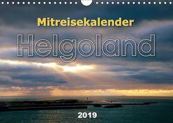 Mitreisekalender 2019 Helgoland (Wandkalender 2019 DIN A4 quer) von Krampe,  Martin