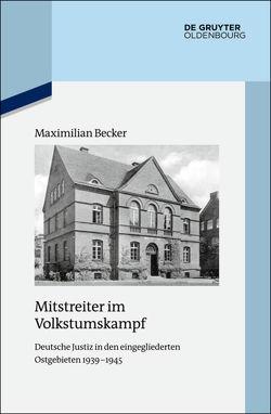 Mitstreiter im Volkstumskampf von Becker,  Maximilian