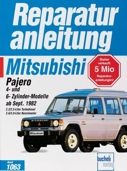 Mitsubishi Pajero, 4-Zyl-Modelle und 6-Zyl-Modelle ab Sept.82