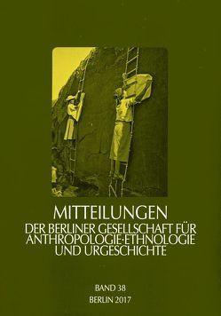 Mitteilungen der Berliner Gesellschaft für Anthropologie, Ethnologie und Urgeschichte