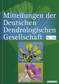 Mitteilungen der DDG von Deutsche Dendrologische Gesellschaft