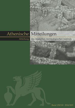 Mitteilungen des Deutschen Archäologischen Instituts, Athenische Abteilung von Senff,  Reinhard, Sporn,  Katja