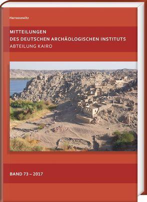 Mitteilungen des Deutschen Archäologischen Instituts von Polz,  Daniel, Seidlmayer,  Stephan