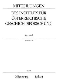 Mitteilungen des Instituts für Österreichische Geschichtsforschung / Mitteilungen des Instituts für Österreichische Geschichtsforschung von Brunner,  Karl