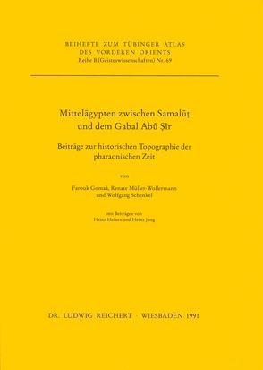 Mittelägypten zwischen Samalut und dem Gabal Abu Sir von Gomaà,  Farouk, Müller-Wollermann,  Renate, Schenkel,  Wolfgang