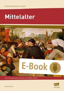 Mittelalter von Gerner,  Renate