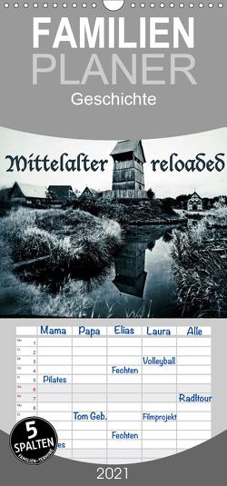 Mittelalter reloaded Vintage-Edition – Familienplaner hoch (Wandkalender 2021 , 21 cm x 45 cm, hoch) von Dombrow,  Charlie