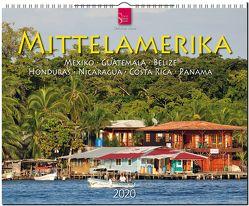 Mittelamerika – Mexiko • Guatemala • Belize • Honduras • Nicaragua • Costa Rica • Panama von Heeb,  Christian