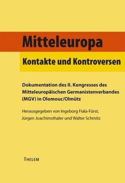 Mitteleuropa von Fiala-Fürst,  Ingeborg, Joachimsthaler,  Jürgen, Schmitz,  Walter