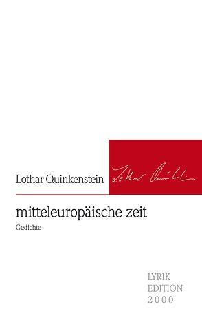 mitteleuropäische zeit von Quinkenstein,  Lothar