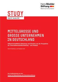 Mittelgroße und große Unternehmen in Deutschland von Kraft,  Stephan, Steinhaus,  Hennrik