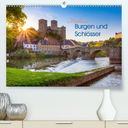 Mittelhessens Burgen und Schlösser (Premium, hochwertiger DIN A2 Wandkalender 2020, Kunstdruck in Hochglanz) von Koch,  Silke