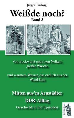 Mitten aus'm Arnstädter DDR-Alltag Band 3 von Ludwig,  Jürgen