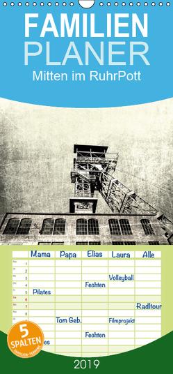 Mitten im RuhrPott – Familienplaner hoch (Wandkalender 2019 , 21 cm x 45 cm, hoch) von Photography,  CR
