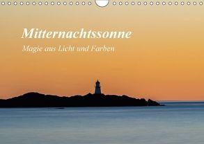 Mitternachtssonne – Magie aus Licht und Farben (Wandkalender 2018 DIN A4 quer) von Ebeling,  Christoph