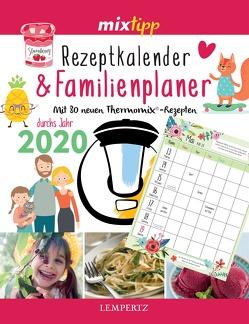 mixtipp: Rezeptkalender & Familienplaner 2020 von Watermann,  Antje