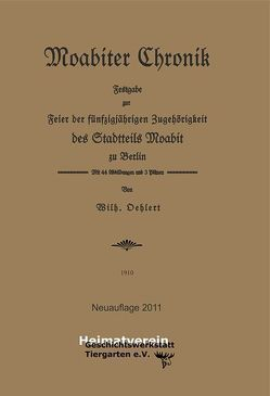 Moabiter Chronik von Oehlert,  Wilhelm