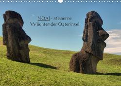 MOAI – steinerne Wächter der Osterinsel (Wandkalender 2021 DIN A3 quer) von Hartmann,  Carina