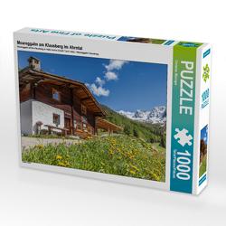 Moareggalm am Klausberg im Ahrntal (Südtirol, Italien) 1000 Teile Puzzle quer von Mueringer,  Christian