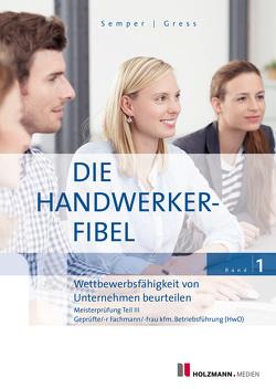 """Mobi """"Die Handwerker-Fibel"""", Band 1 von Gress,  Bernhard, Semper,  Dr. Lothar"""