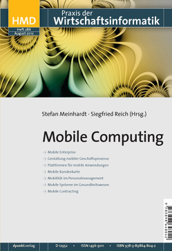Mobile Computing von Meinhardt,  Stefan, Reich,  Siegfried