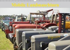 Mobile Landmaschinen (Wandkalender 2018 DIN A3 quer) von Jordan,  Diane