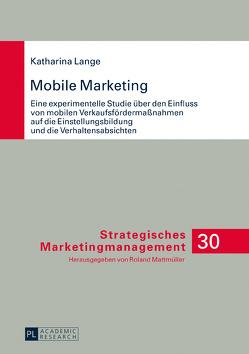 Mobile Marketing von Lange,  Katharina