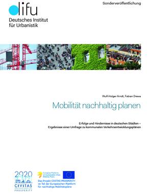 Mobilität nachhaltig planen von Arndt,  Wulf-Holger, Drews,  Fabian