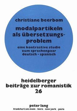 Modalpartikeln als Übersetzungsproblem von Peters,  Christiane