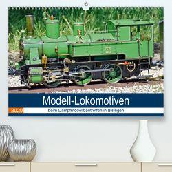 Modell-Lokomotiven beim Dampfmodellbautreffen in Bisingen (Premium, hochwertiger DIN A2 Wandkalender 2020, Kunstdruck in Hochglanz) von Günther,  Geiger