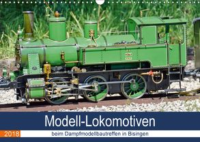 Modell-Lokomotiven beim Dampfmodellbautreffen in Bisingen (Wandkalender 2018 DIN A3 quer) von Günther,  Geiger