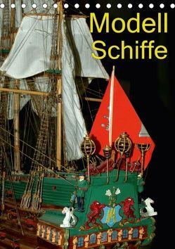 Modell Schiffe (Tischkalender 2018 DIN A5 hoch) von Burkhardt,  Bert