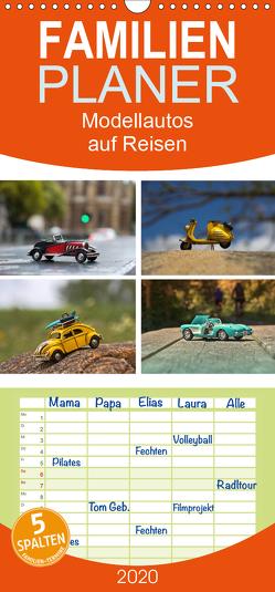 Modellautos auf Reisen – Familienplaner hoch (Wandkalender 2020 , 21 cm x 45 cm, hoch) von Michalzik,  Paul