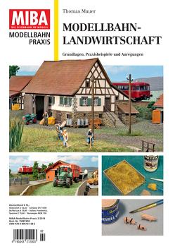 Modellbahn-Landwirtschaft von Mauer,  Thomas