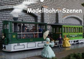 Modellbahn-Szenen (Wandkalender 2016 DIN A3 quer) von Huschka,  Klaus-Peter