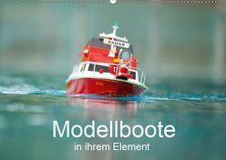 Modellboote in ihrem Element (Wandkalender 2019 DIN A2 quer) von Quentin,  Thomas