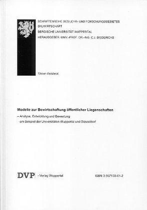 Modelle zur Bewirtschaftung öffentlicher Liegenschaften von Reisbeck,  Tilman