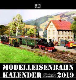 Modelleisenbahnkalender 2019 von Scholz,  Helge