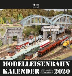Modelleisenbahnkalender 2020 von Scholz,  Helge