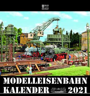 Modelleisenbahnkalender 2021 von Scholz,  Helge