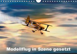 Modellflug in Szene gesetzt (Wandkalender 2019 DIN A4 quer) von Gödecke,  Dieter